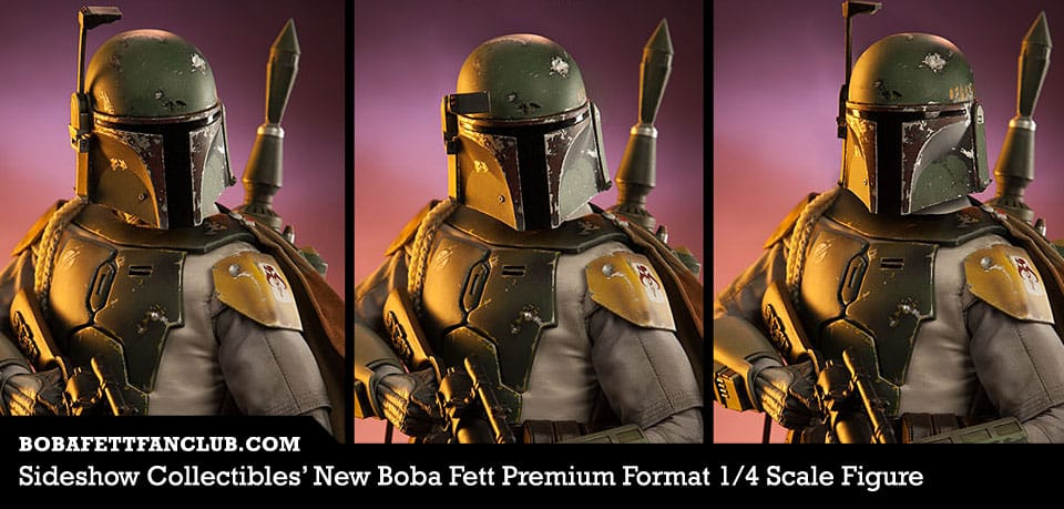 Sideshow Collectibles' New Boba Fett Premium Format 1/4 Scale Figure