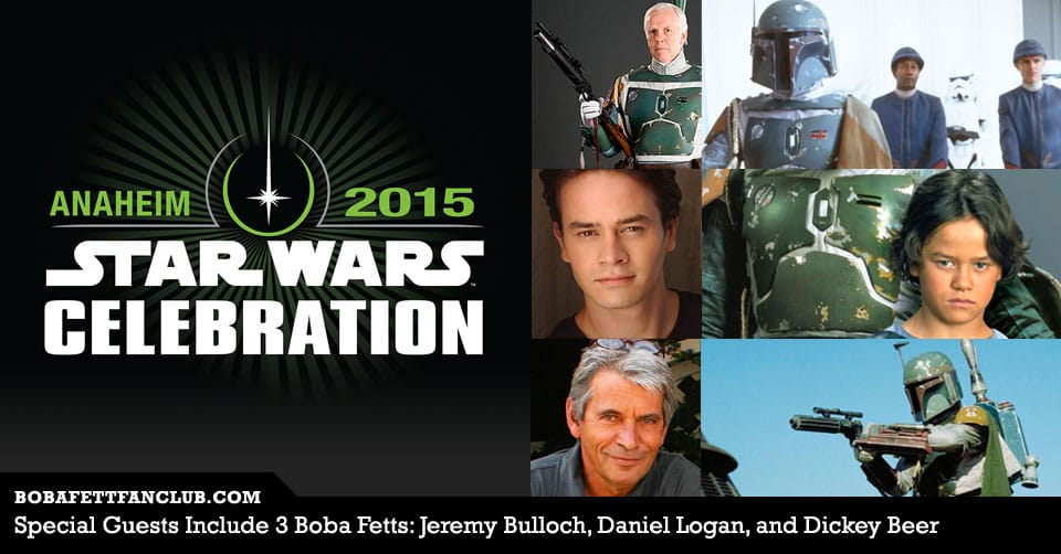 Special Guests: 3 Boba Fetts - Jeremy Bulloch, Daniel Logan, and Dickey Beer
