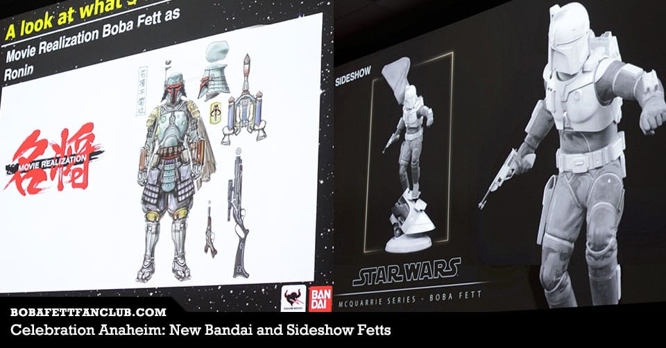 Celebration Anaheim: New Boba Fetts Announced at Day 1's Collectibles Panel