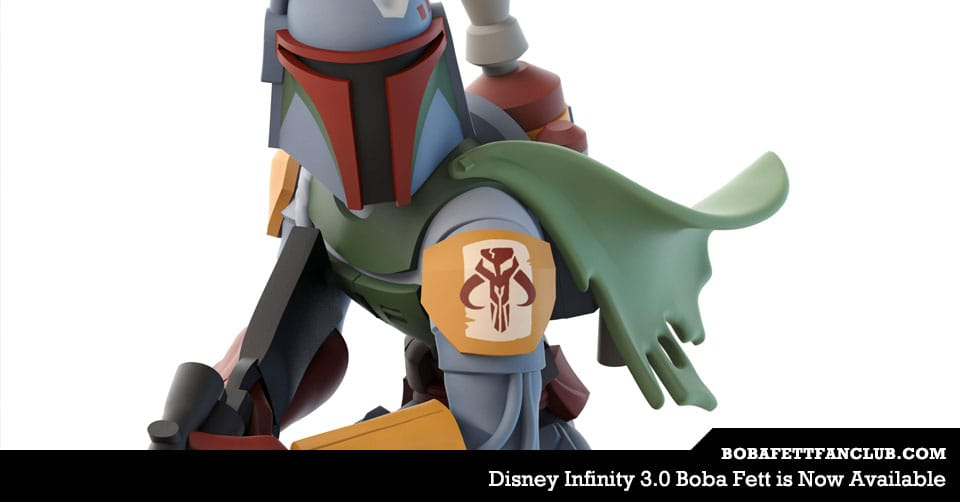 Disney Infinity 3.0 Boba Fett is Now Available