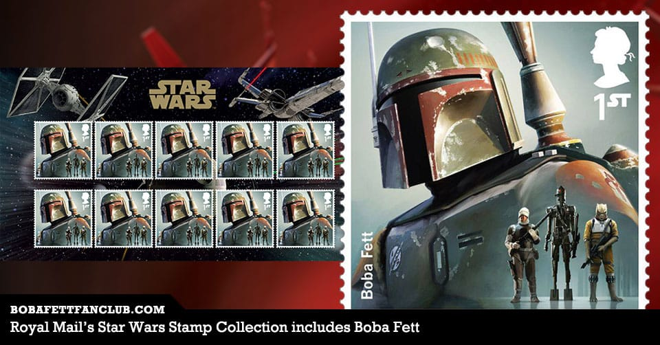 Royal Mail's Star Wars Stamp Collection includes Boba Fett