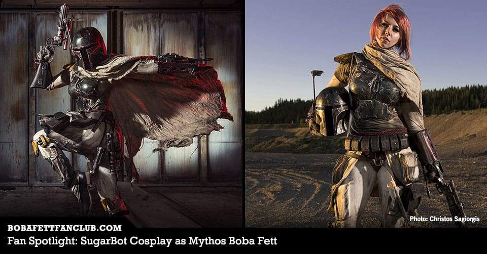 Fan Spotlight: SugarBot Cosplay as Mythos Boba Fett