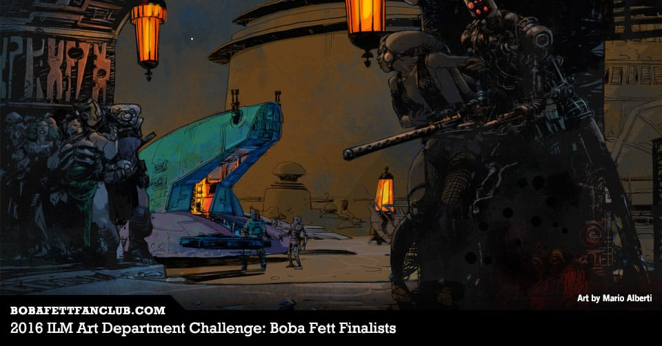 2016 ILM Art Department Challenge: Boba Fett Finalists