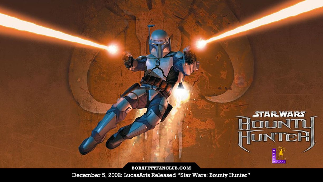 "This Month In History: ""Star Wars: Bounty Hunter"" Released in 2002"