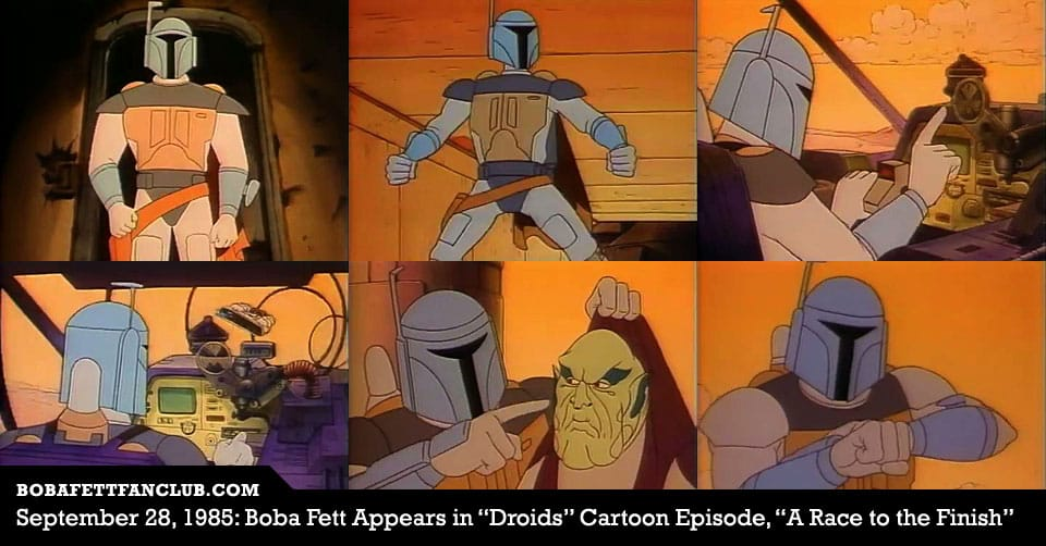 This Day in History: Boba Fett appeared in Droids in 1985
