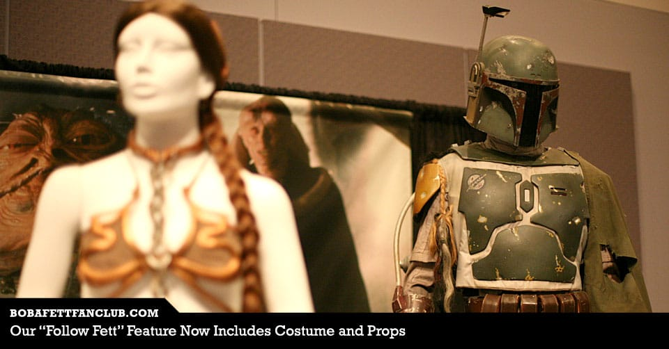 "Our ""Follow Fett"" Feature Now Includes Costume and Props"