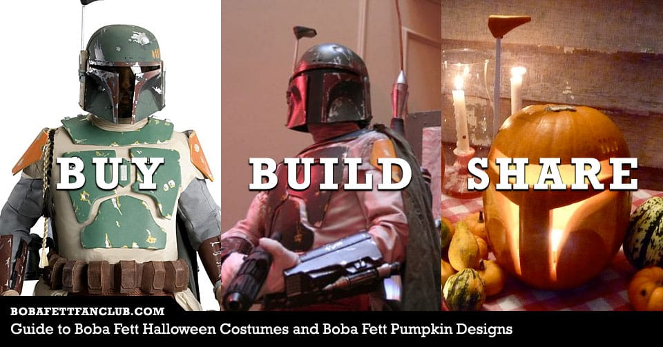 Guide to Boba Fett Halloween Costumes and Boba Fett Pumpkin Designs